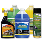 Nu-Calgon Coil Cleaners & Sprayers