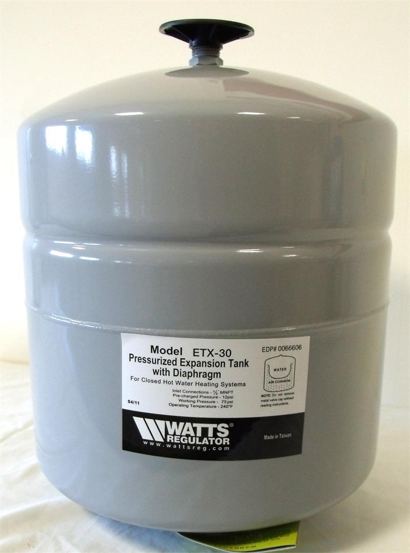 Watts 0066606 Et 30 X Expansion Tank