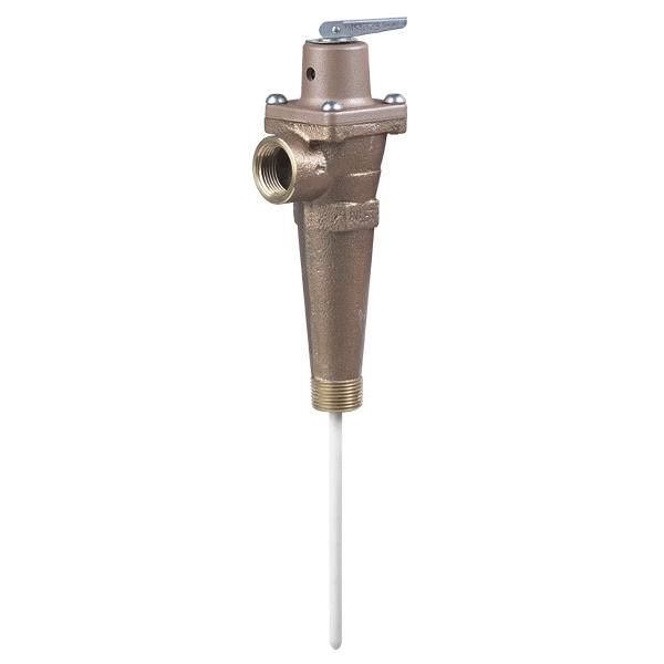 watts 0163725 40xl 4 1 temperature pressure t p relief valve. Black Bedroom Furniture Sets. Home Design Ideas