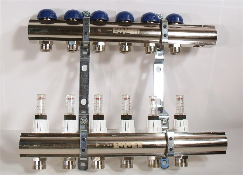 Emmeti 01299294 pre assembled manifold 1 1 4 24mm x 19mm for Wirsbo motorized valve actuator manual