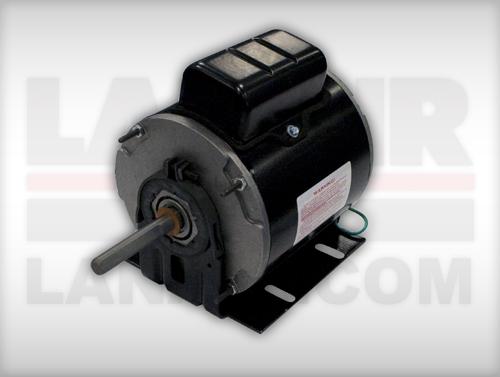 Lanair 8135 fan motor 1 4hp low rpm for Low rpm air motor