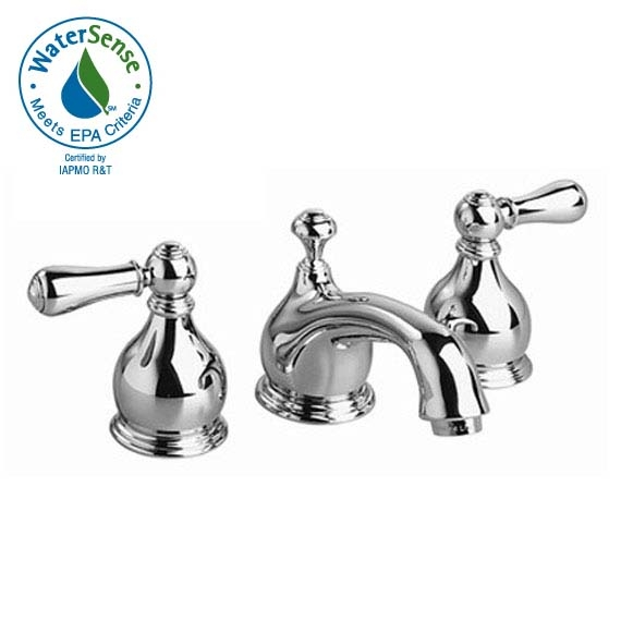 American Standard 7871 712 Hampton Widespread Bathroom Faucet Traditional Spout