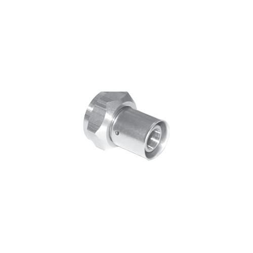 Mlc press fitting brass fitting adapter 3 4 mlc tubing x for Come collegare pex pipe al rame