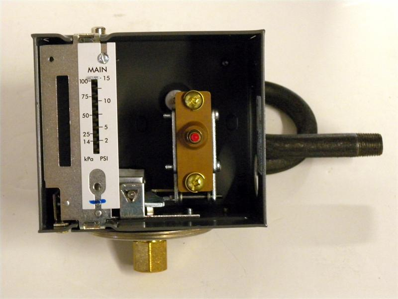Honeywell L404b1346 Pressuretrol Control