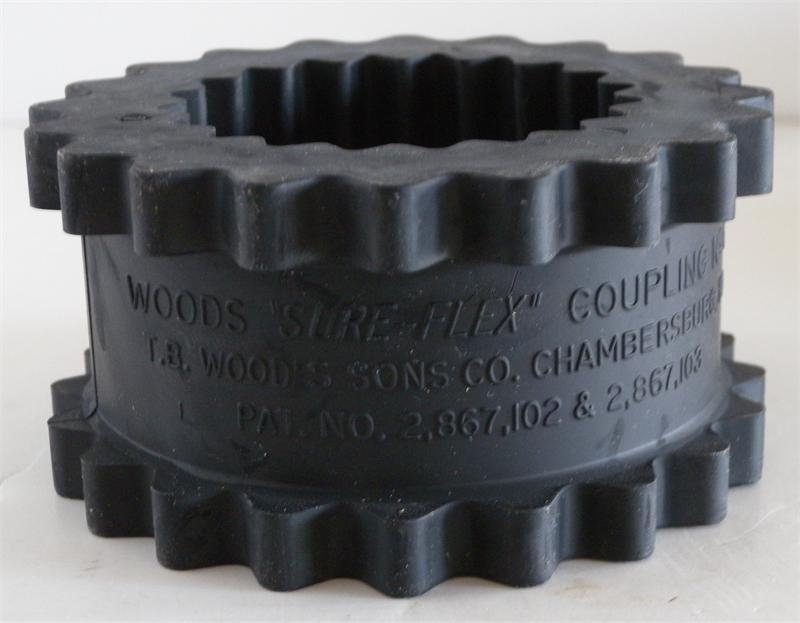 Woods Wc 795a Sure Flex Rubber Coupling Sleeve