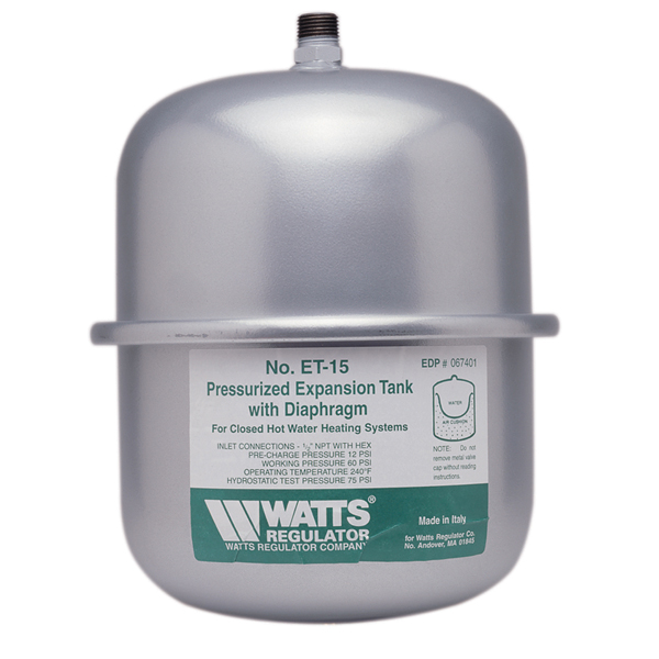 Watts 0067431 ET-90 Expansion Tank
