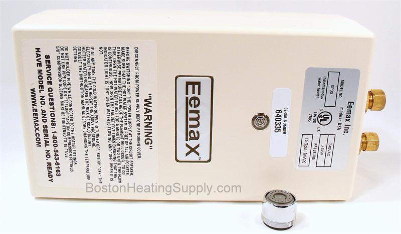 Eemax Ex35 Flow Control