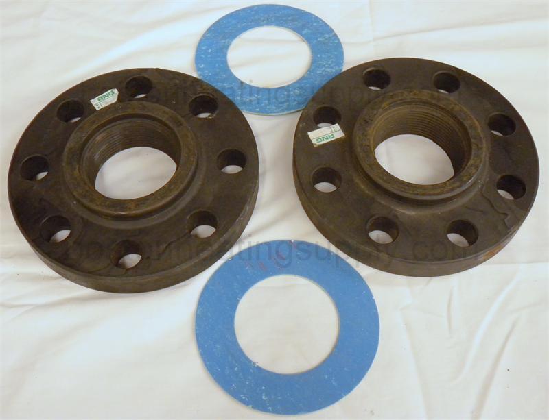 Grundfos  quot threaded cast iron flange set