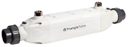 Triangle Tube Maxi Flo Mf 350pt Titanium Stainless Steel