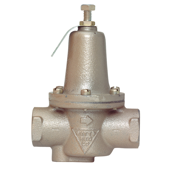 "Watts 0321980 N250B 3/4"" Iron Body Pressure Regulator"