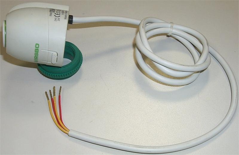 Pool Heat Pump >> Uponor Thermal Actuator, Four-Wire: A3010522