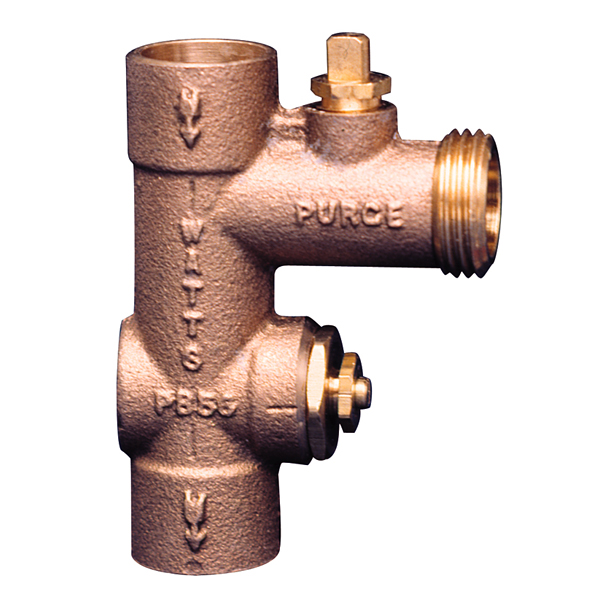 watts 0207500 pb 56 3 4 purge and balancing valve