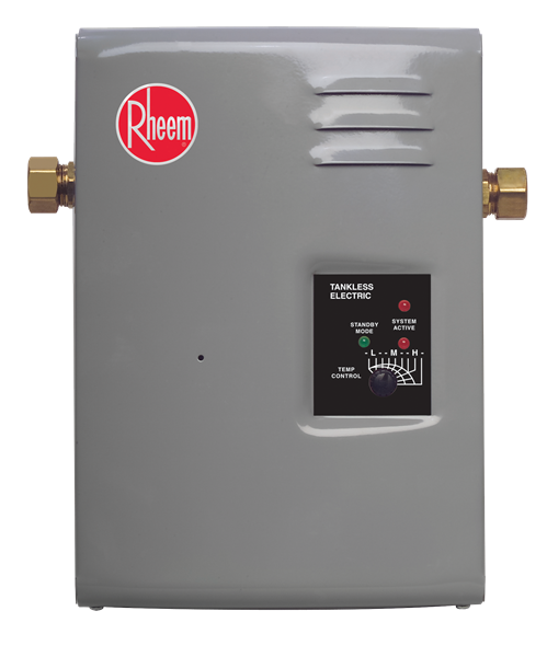 Rheem Tankless Water Heater 106