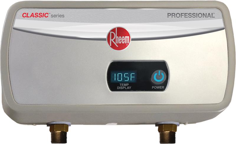 rheem rtex 04 3kw tankless electric water heater