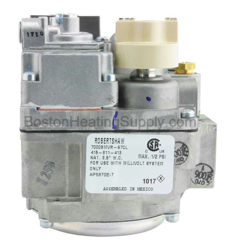 Rheem Sp5870e Gas Valve Natural Gas