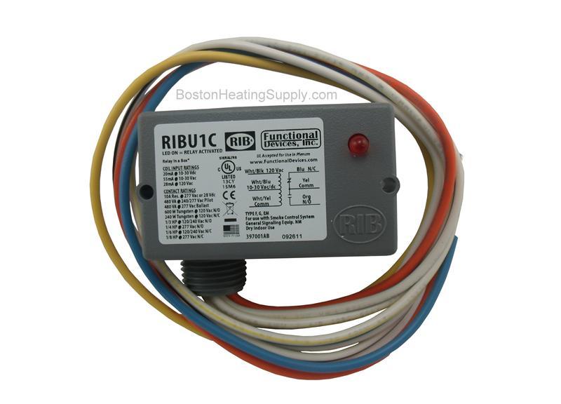 honeywell ribu1c rib multi voltage relay in a box SPDT Relay Wiring Rib Relay Ribu1c Wiring #20