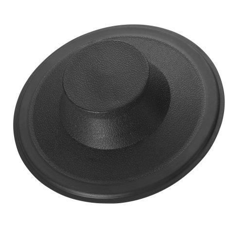 Sink Stopper : InSinkErator STP-PL Plastic Sink Stopper, Black