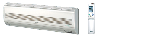 Sanyo Kms0972 Wall Mounted Air Conditioner