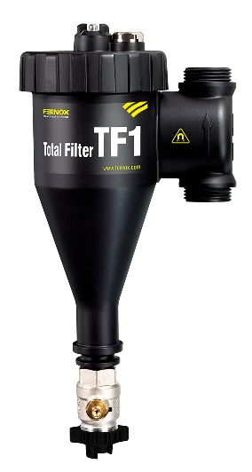 FERNOX TF-1 FILTER, MAGNETIC AND NON-MAGNETIC DEBRIS FILTER