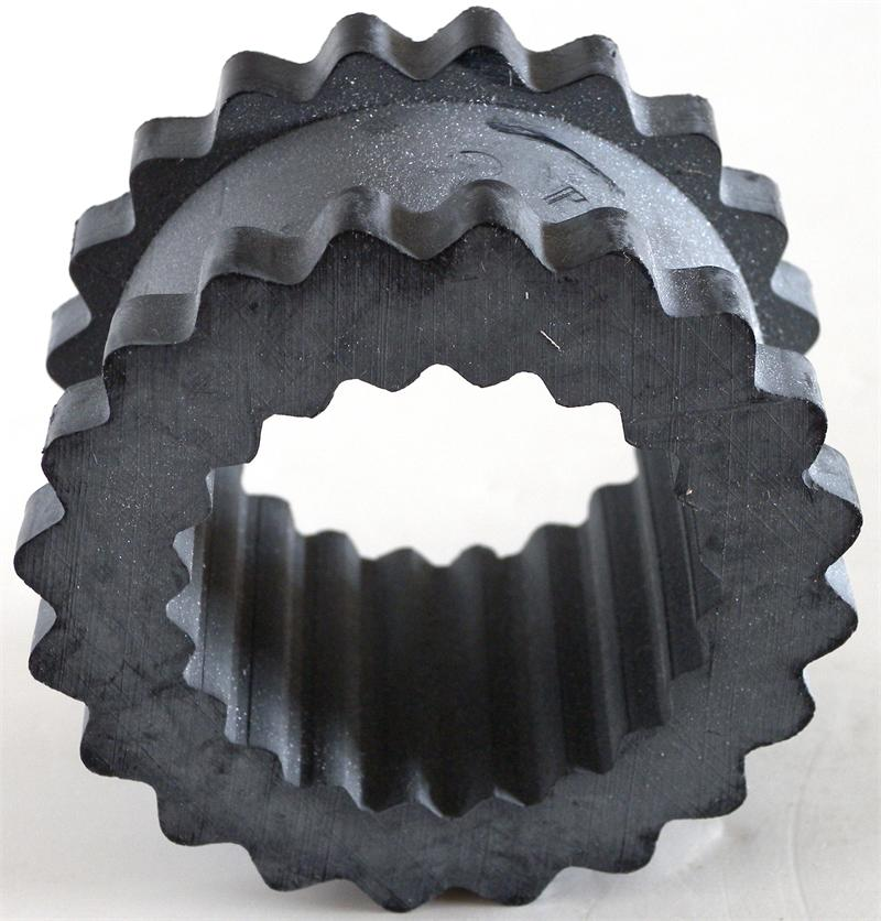 Taco rubber insert