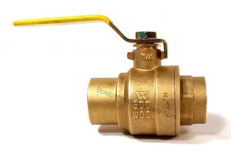 Watts 0547105 1 1 4 Quot Ips Copper Ball Valve