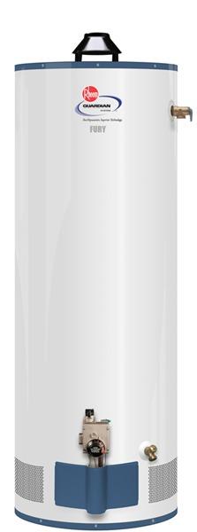 Rheem 42vr40 40f Fury Gas Water Heater