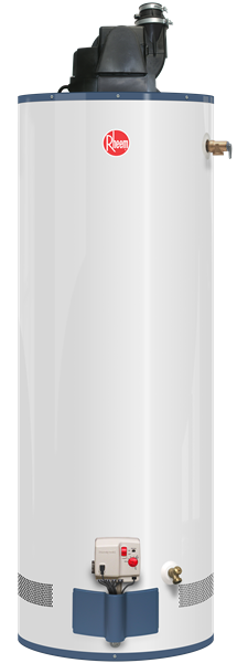 Rheem Prog50 42prh67pv Powervent Lp Gas Water Heater