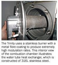 Trinity Ti200c Combination Heat Hot Water Boiler