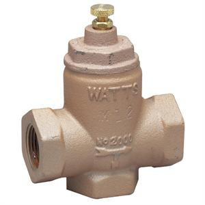 "Watts 0856764 2000SM5 1"" Sweat Two-Way Flow Check Valve"