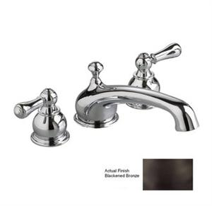 American Standard T970.732 Hampton Deck-Mount Tub Filler Trim-Crescent Spout