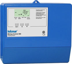 Tekmar, 361, Mixing Control - Variable Speed