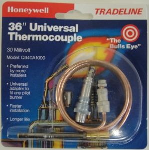 Honeywell Q340a1090 30 Mv Thermocouple