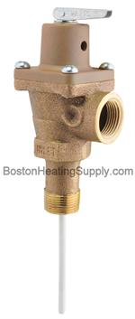 Rheem SP9013D Temperature and Pressure Relief Valve -Watts 40XL