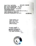 Rheem SP12190C AdvantagePlus Natural Gas Orifice (160,000 BTU)